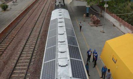 Conheça o primeira trem solar da América Latina