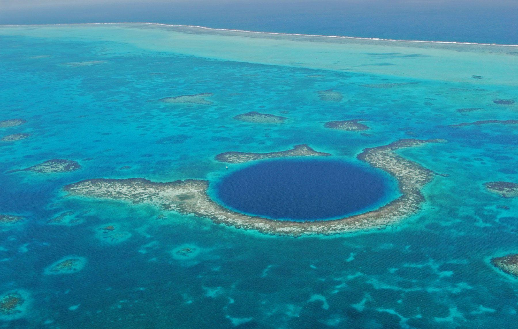 Great Blue Hole: O destino ideal para os mergulhadores