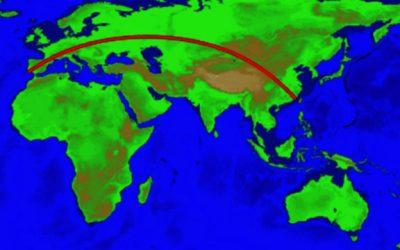 Qual a maior linha reta terrestre do planeta?