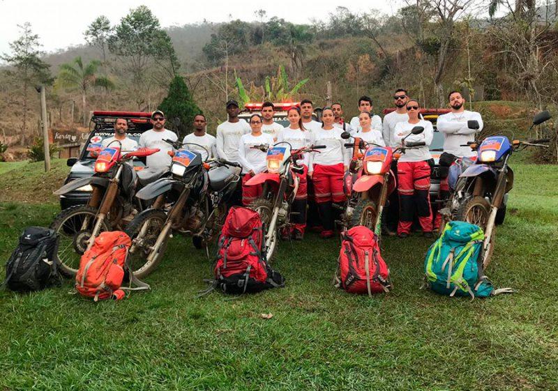 Resgatistas Nerea prontos para o Iron Biker 2019