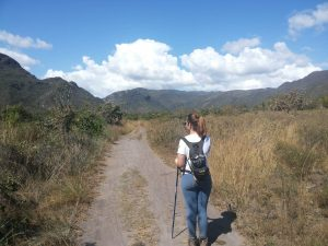 Se ficar perdido na trilha, o que devo fazer?
