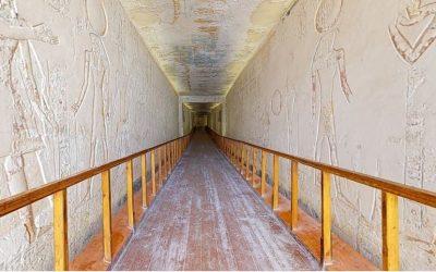 Visita 3D a Tumba de um Faraó!